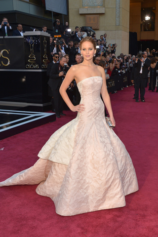 Jennifer Lawrence - Dior Haute Couture